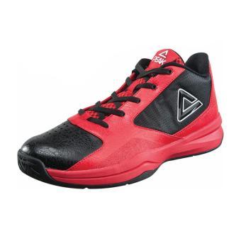 Peak Men's Low-Cut Basketball Shoes [Red-Black] E53091A