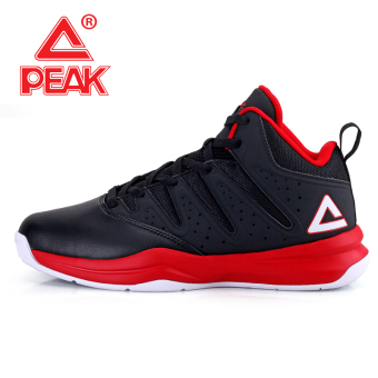 Peak official autumn and winter wear non-slip I shoes basketball shoes (Black/Peak Hong)
