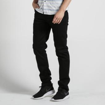 PENSHOPPE Basic Five Pocket Slim Jeans (Black)