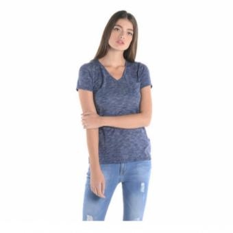 PENSHOPPE Basic V-Neck Tee (Navy Blue)