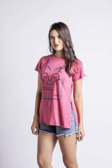 Penshoppe Casual Graphic Tee (Pink) - 2