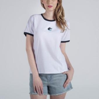 Penshoppe Circular Knit Tee (White) Price Philippines