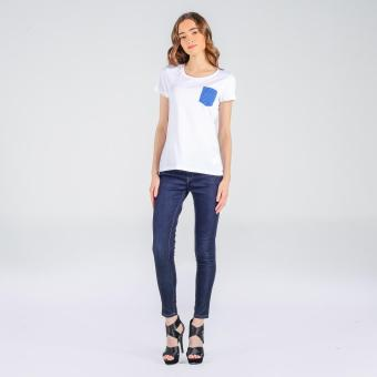 Penshoppe Pocket Basic Tee (White)