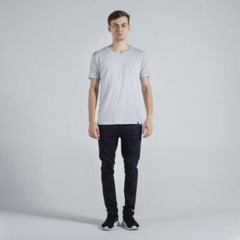 Penshoppe Semi Fit Tee (Light Gray)