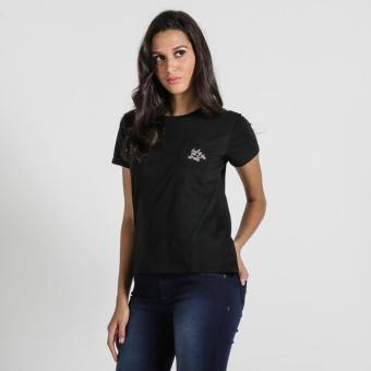 PENSHOPPE Semi Fit Tee With Embroidery (Black)