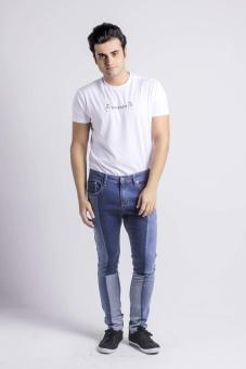 Penshoppe Skinny Fit Jeans (Blue) - 5