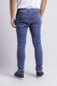 Penshoppe Skinny Fit Jeans (Blue) - 4