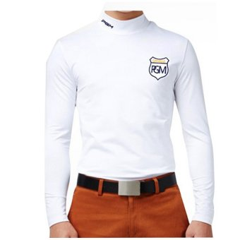 PGM GOLF Shirt Milk Silk Long-sleeved T-shirt Men Warm Coat White Price Philippines