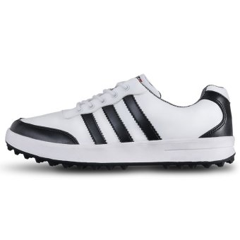 PGM Men Golf Shoes Casual Shoes Waterproof(white)