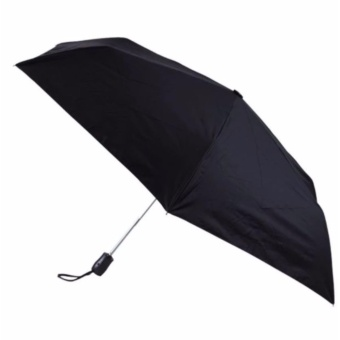 Phoebe's Automatic Plain Umbrella - (Black)