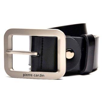 Pierre Cardin Genuine Leather Belt (Black)