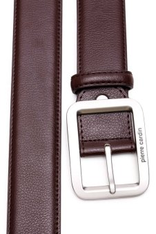 Pierre Cardin Genuine Leather Belt (Brown) - picture 3
