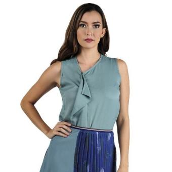 Plains & Prints Hussain Sleeveless Top (Teal)