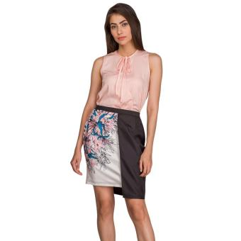 Plains & Prints Narius Sleeveless Top (Blush)