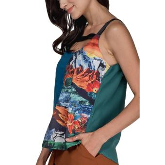Plains and Prints Pereira Sleeveless Top (Multi) - 4