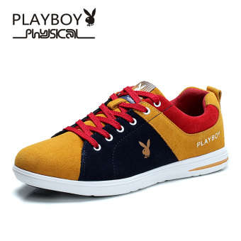 PLAYBOY Korean-style student shoes men's shoes (Huang Zong/Shen Lan)