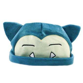 Pokemon Snorlax Soft Plush Toy Cap Warm Hat Beanie Caps CosplayGift for Kids - intl