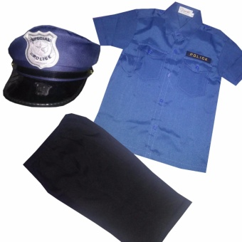 Police Costume Set (2-13 YearsOld) Price Philippines