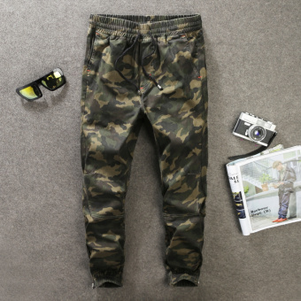 Popular brand outdoor camouflage overalls casual camouflage pants (Fans multi-color-8031 #)