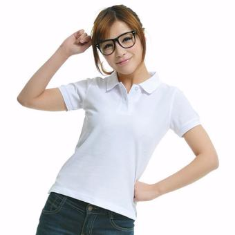 Premium Quality Fashion Polo Shirts for Women - White