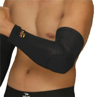 PROCARE COMBAT #CS35 Compression Padded Elbow Arm Sleeve 1pc(Black)