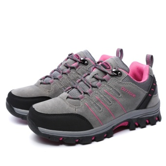 Professional Couples Hiking Shoes Mountain Climbing Trekking SportSneakers Breathable Outdoor Travelling Shoes
