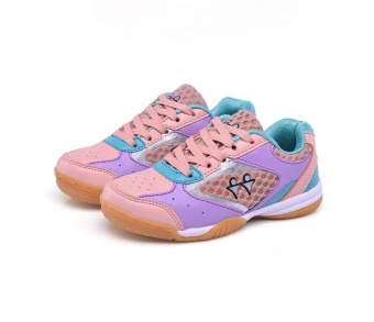Professional Kids Badminton Shoes Boys and Girls Badminton Shoes Children's Tennis Shoes Fashion Sneakers Size 30-40 - intl - 3