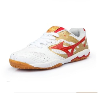 Professional Men and Women's Professional Badminton Shoes Comfortable and Anti-skid Couples Table Tennis Sneakers Plus Size 36-44 - intl