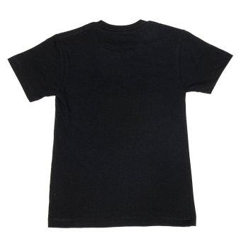 Puritan Jr. Boy's Basic Roundneck T-Shirt (Black) - 3