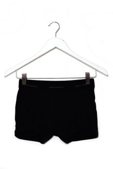 Puritan Men's Stretch Boxer Brief (Black)
