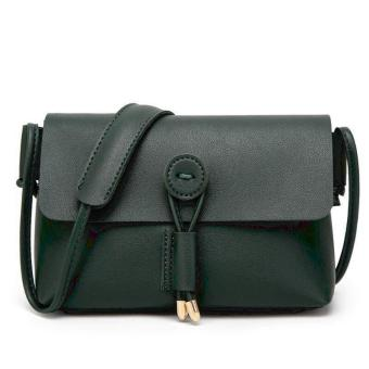 QF Korean Fashion Mini Leather Sling Bag (GREEN) Price in Philippines