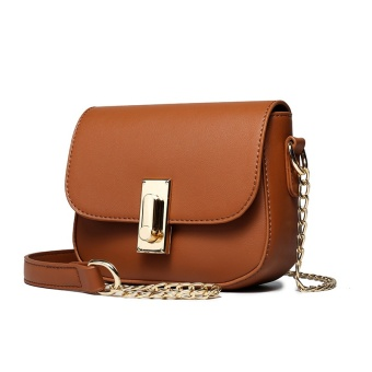 Qiudong Korean-style girl's New style women's bag small bag (Retro Brown)