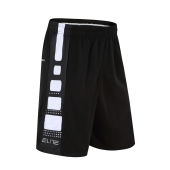 Quick-drying over-the-knee running Fitness Sports shorts basketball shorts (White)