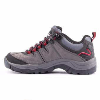 Quota Trekker Shoes Grey/Red - 4