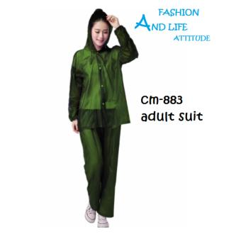 Rain Coat Drops Suite Raincoat Sea Blue CM-883 GREEN Price Philippines
