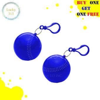 Raincoat Cute Ball Case Buy One Take One (Blue) Price Philippines