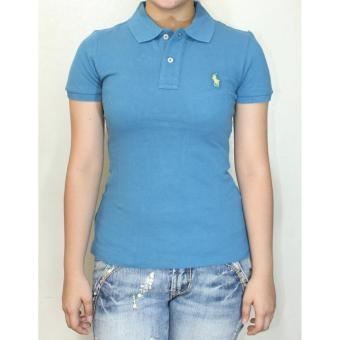 Ralph Lauren Skinny Polo Shirt Blue Price Philippines