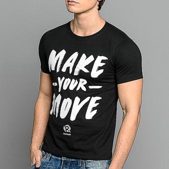 Rappler Xchange Make Your Move Cotton T-Shirt (Black) - 3