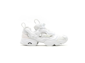 Reebok Insta PUMP FURY Running Shoes Air Inflation Running Shoes Men's Cashion Shoes(white) - intl