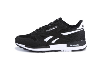 Reebok Mens Casual Shoes Sublite Super Duo Walking Shoes Men Reebok Ultra-light Breathable Running Shoes (black white) - intl