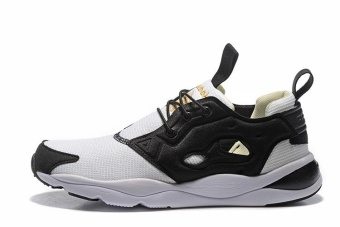 Reebok Mens Sports Shoes Reebok Furylite Running Shoes JoggingShoes(black and white) - intl