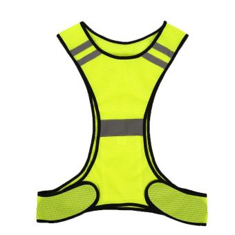 Reflective Vest Safety for Night Work Sport Running Cycling High Visibility