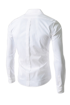 Reverieuomo CS36 Single-breasted Shirt (White) - 2