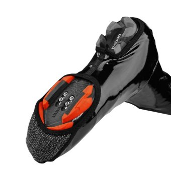 RockBros Cycling Shoe Cover Warm Windproof Waterproof PU Protector Overshoes - intl - 3