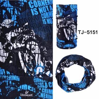 ROCKBROS Summer Outdoor Sports Scarf Bicycle Equipment HeadwearSeamless Ride Neck Mask Bike Magic Buff Cycling Headband Bandana -intl