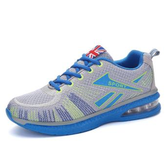 Running Shoes for Mens Outdoor Sport Air Mesh Breathable Sneakers(Blue) - intl - 4