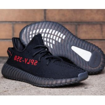 Running shoes for Yeezy Boost 350 V2 Core Black Red - intl