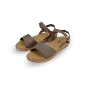 Rusty Lopez Flat Sandals (TAUPE)