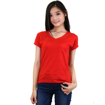 Sabrina Soft Top Blouse (Red)