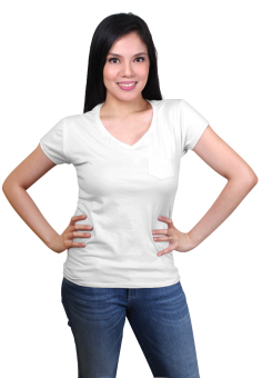 Sabrina Soft Top Blouse (White)